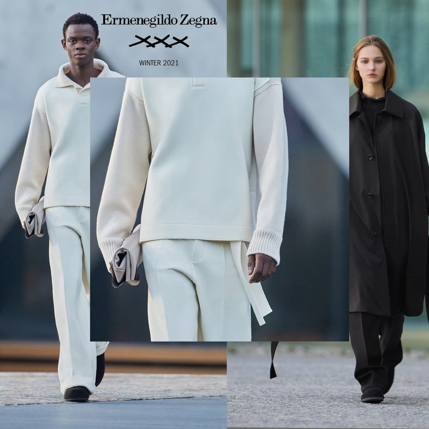 Ermenegildo Zegna XXX Fall-Winter 2021-2022. RUNWAY MAGAZINE ® Collections. RUNWAY NOW / RUNWAY NEW