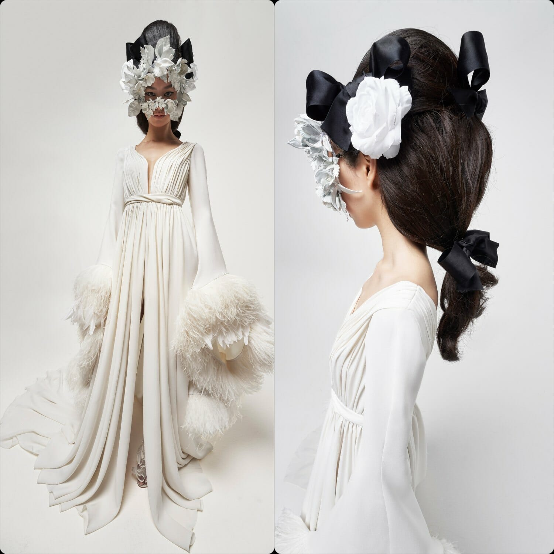 Giambattista Valli Haute Couture Spring Summer 2021. RUNWAY MAGAZINE ® Collections. RUNWAY NOW / RUNWAY NEW