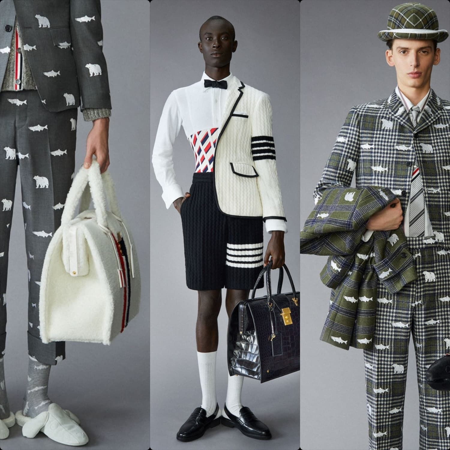 Thom Browne Men Pre-Fall 2021 New York. RUNWAY MAGAZINE ® Collections. RUNWAY NOW / RUNWAY NEW
