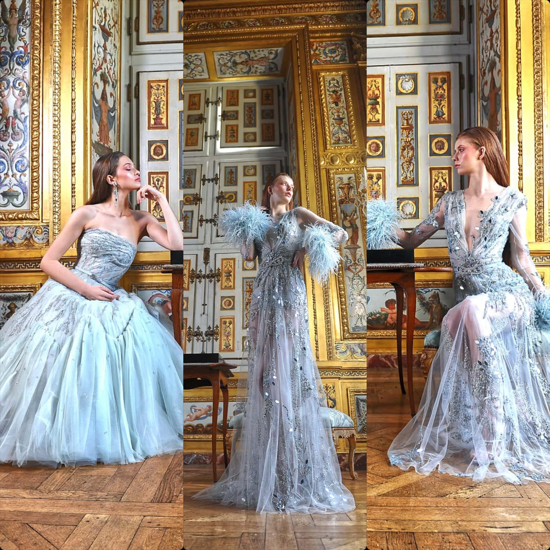 Ziad Nakad Haute Couture Spring Summer 2021. RUNWAY MAGAZINE ® Collections. RUNWAY NOW / RUNWAY NEW