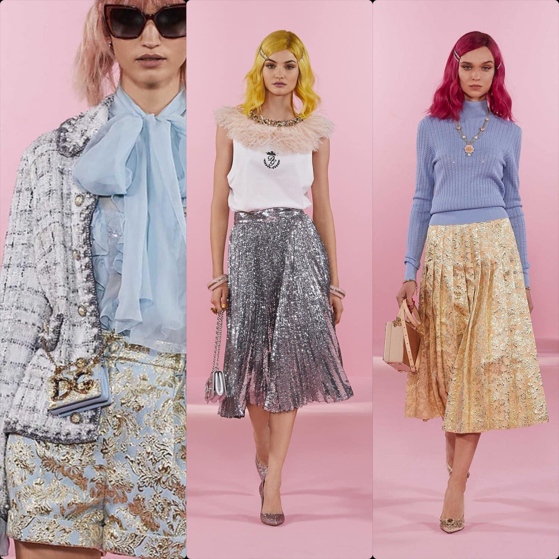 Dolce Gabbana Pre-Fall 2021. RUNWAY MAGAZINE ® Collections. RUNWAY NOW / RUNWAY NEW