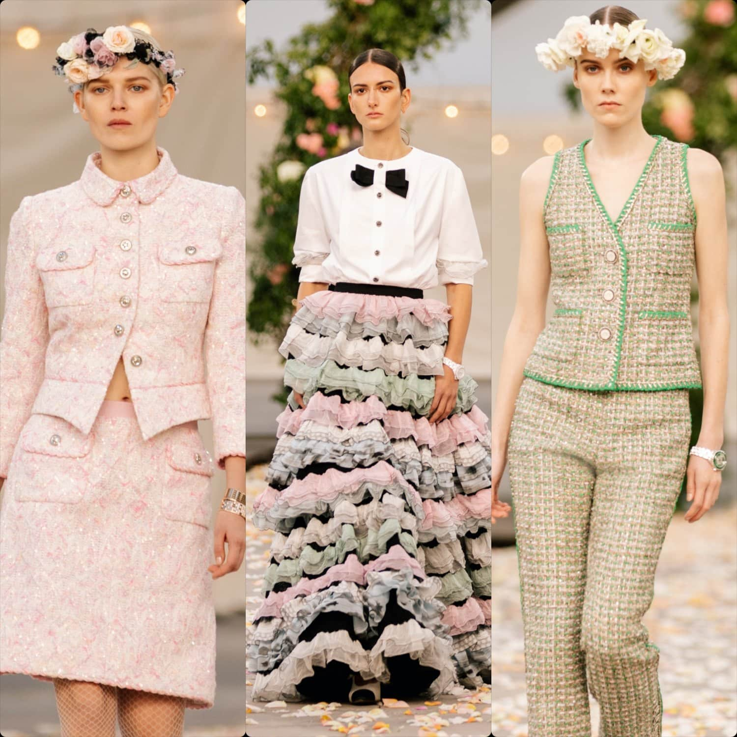 Chanel Haute Couture Spring Summer 2021. RUNWAY MAGAZINE ® Collections. RUNWAY NOW / RUNWAY NEW