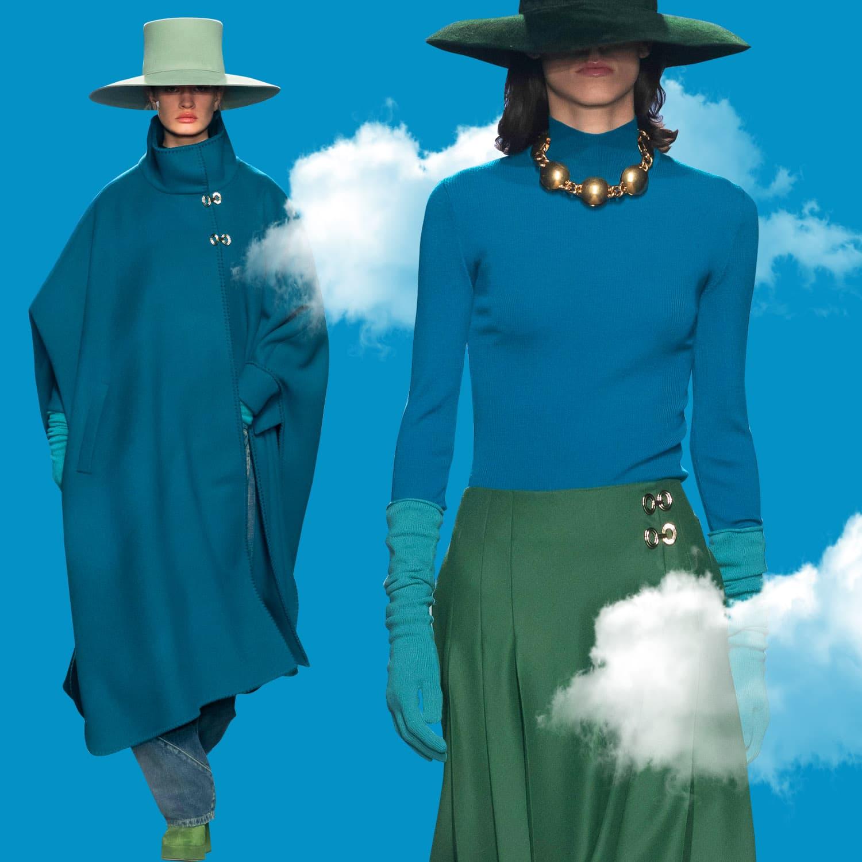 Alberta Ferretti Fall 2021-2022 Milan. RUNWAY MAGAZINE ® Collections. RUNWAY NOW / RUNWAY NEW