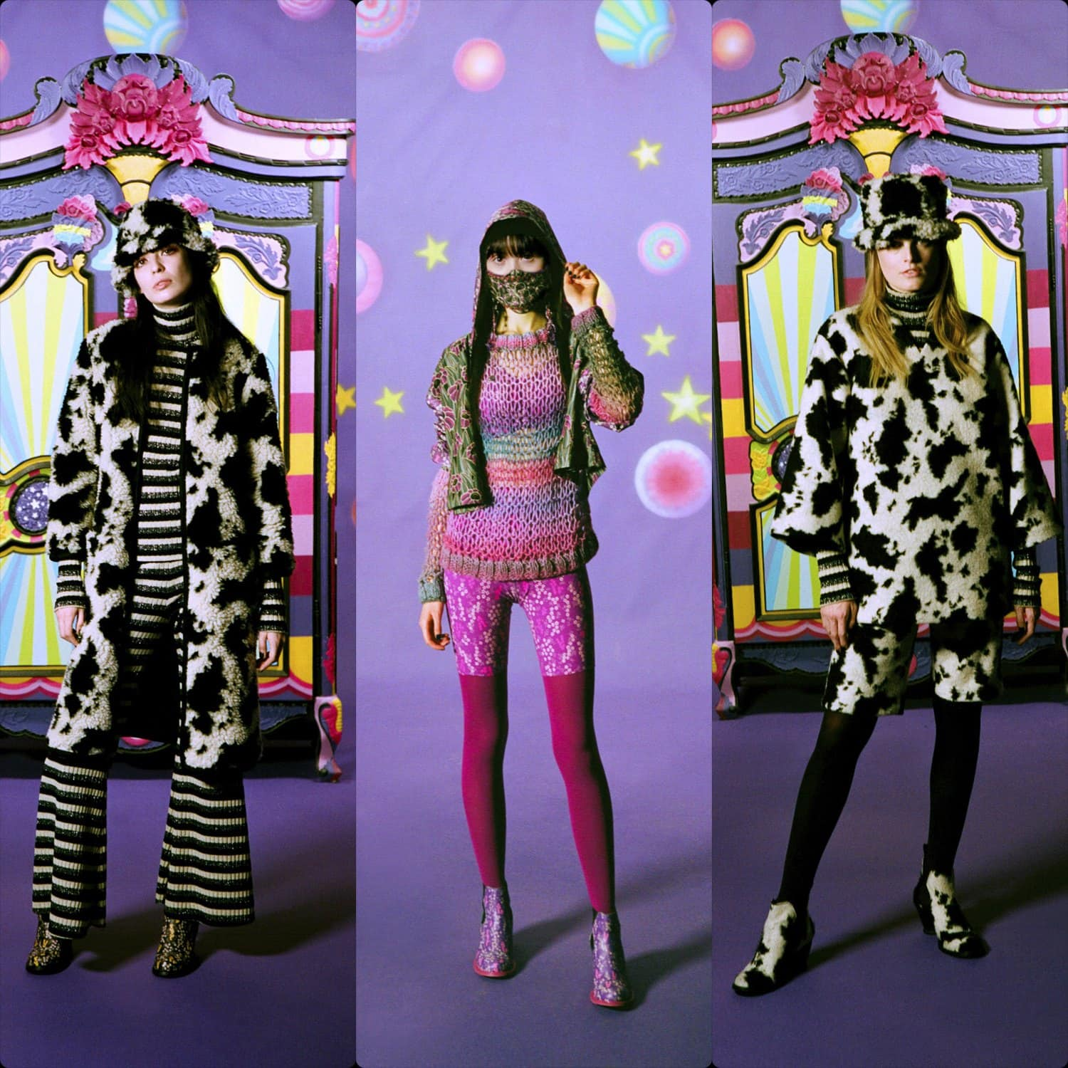 Anna Sui Fall-Winter 2021-2022 New York. RUNWAY MAGAZINE ® Collections. RUNWAY NOW / RUNWAY NEW
