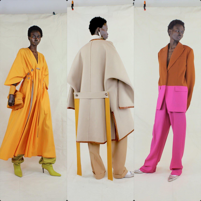 Roksanda Fall-Winter 2021-2022 London. RUNWAY MAGAZINE ® Collections. RUNWAY NOW / RUNWAY NEW