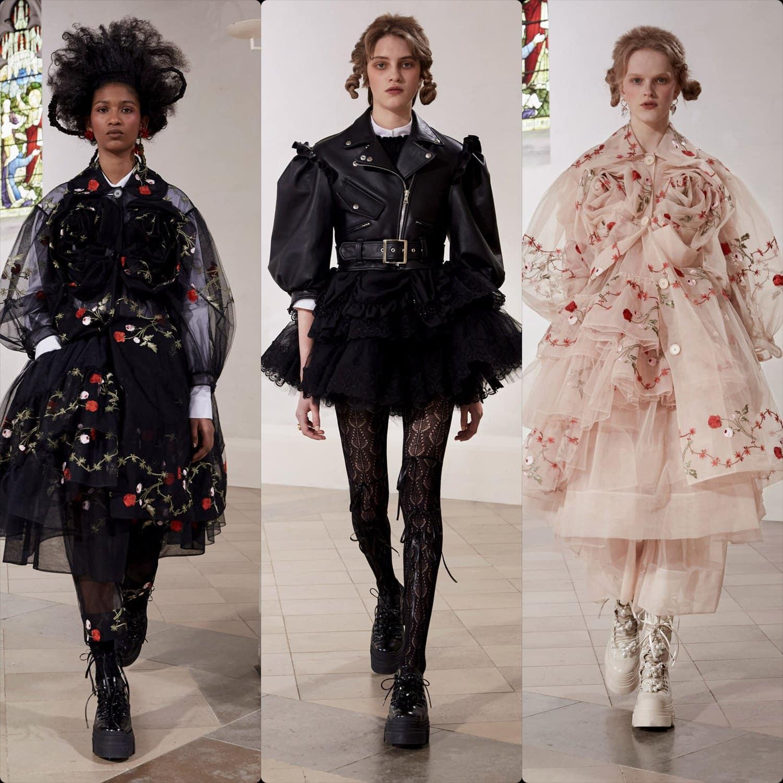 Simone Rocha Fall-Winter 2021-2022 London. RUNWAY MAGAZINE ® Collections. RUNWAY NOW / RUNWAY NEW