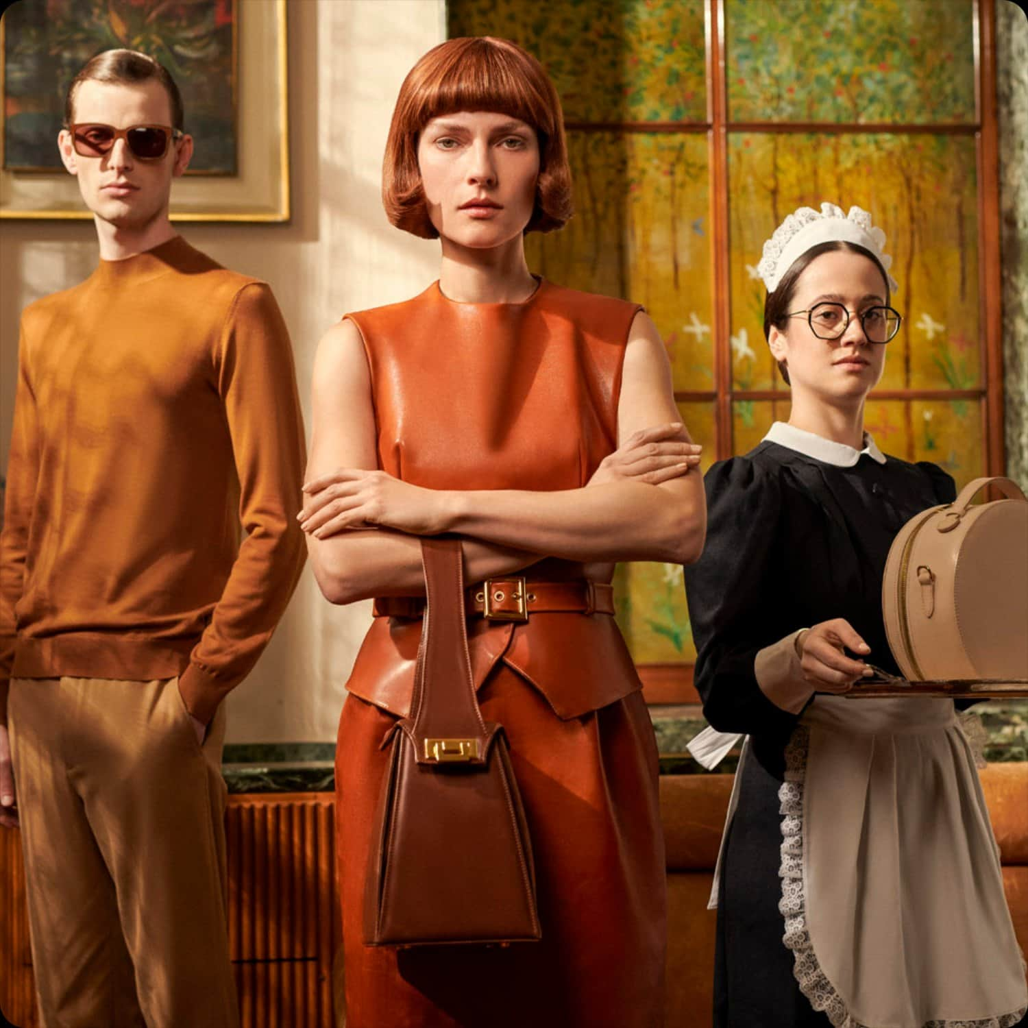 Cuoio di Toscana Fall-Winter 2021-2022 Milan. RUNWAY MAGAZINE ® Collections. RUNWAY NOW / RUNWAY NEW