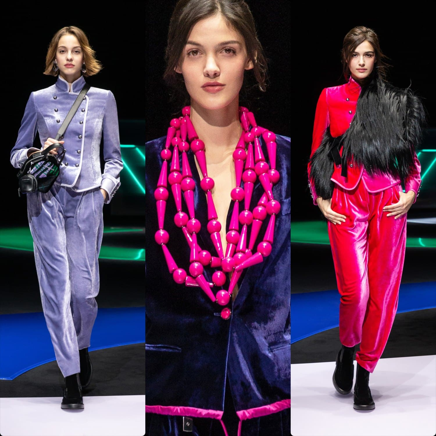 Emporio Armani Fall-Winter 2021-2022 Milan. RUNWAY MAGAZINE ® Collections. RUNWAY NOW / RUNWAY NEW