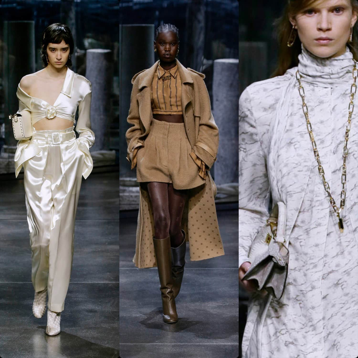 Fendi Fall-Winter 2021-2022 Milan. RUNWAY MAGAZINE ® Collections. RUNWAY NOW / RUNWAY NEW