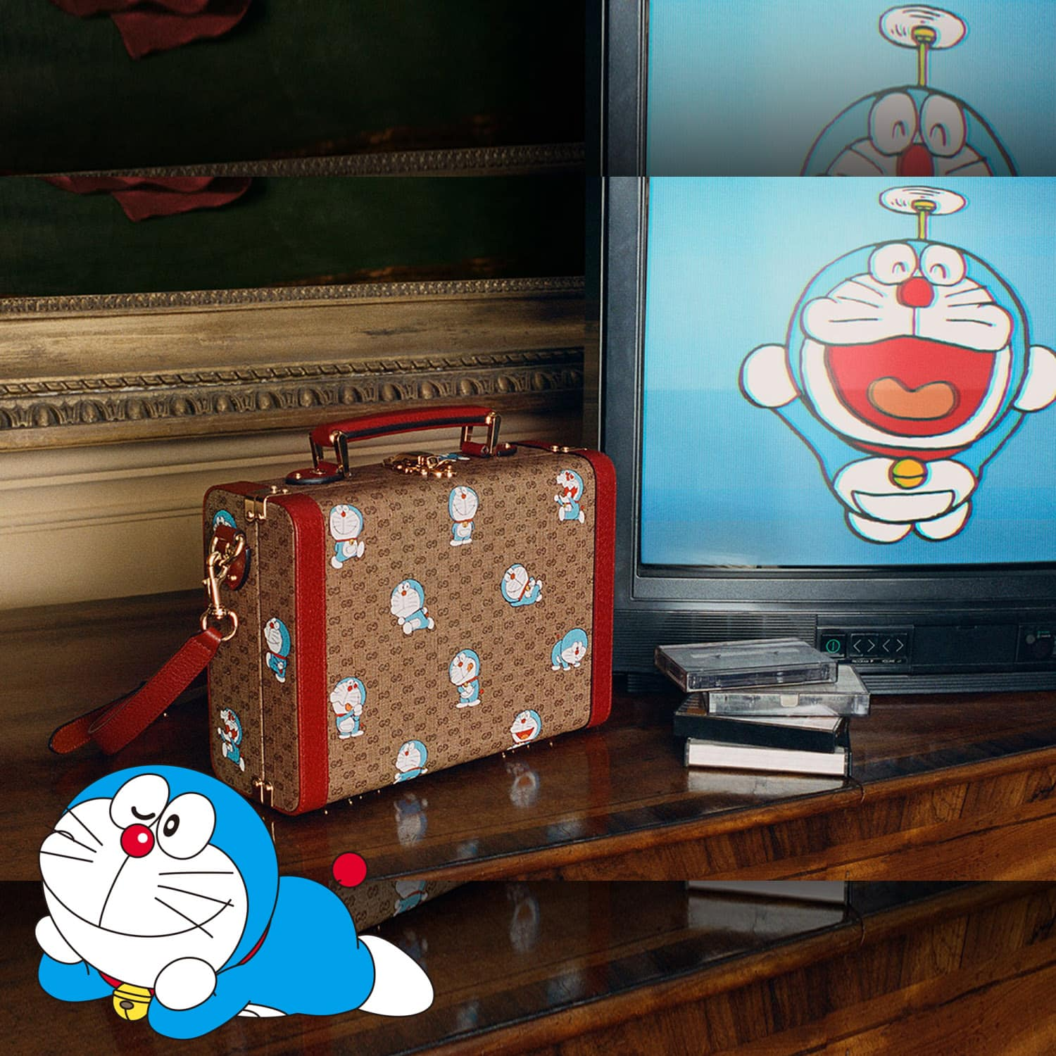 Doraemon x Gucci Chinese New Year 2021 Campaign. RUNWAY MAGAZINE ® Collections. RUNWAY NOW / RUNWAY NEW