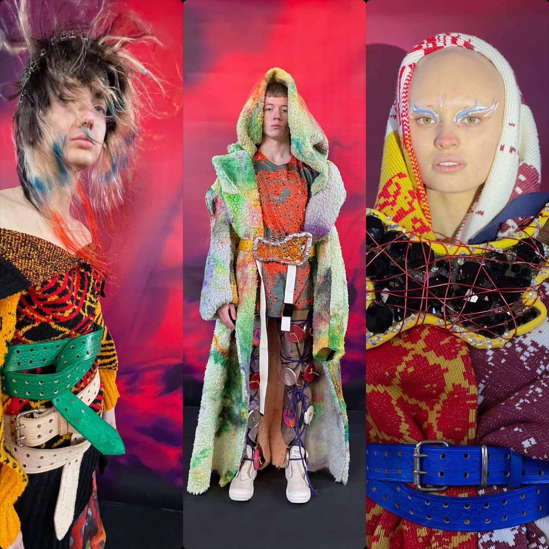 Matty Bovan Fall-Winter 2021-2022 London. RUNWAY MAGAZINE ® Collections. RUNWAY NOW / RUNWAY NEW