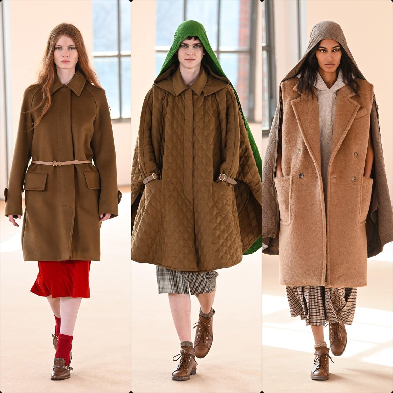 Max Mara Fall-Winter 2021-2022 Milan. RUNWAY MAGAZINE ® Collections. RUNWAY NOW / RUNWAY NEW