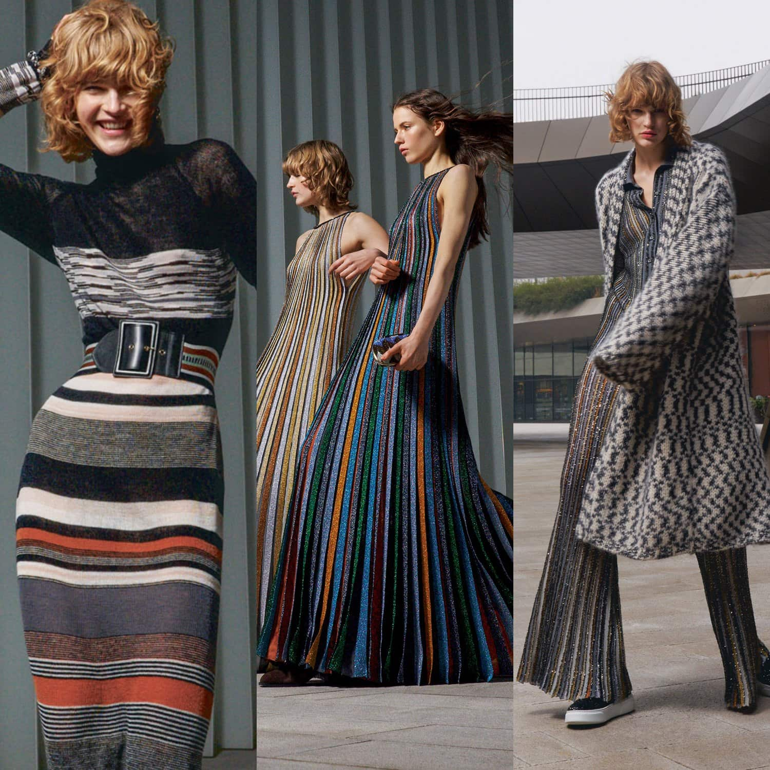 Missoni Fall-Winter 2021-2022 Milan. RUNWAY MAGAZINE ® Collections. RUNWAY NOW / RUNWAY NEW