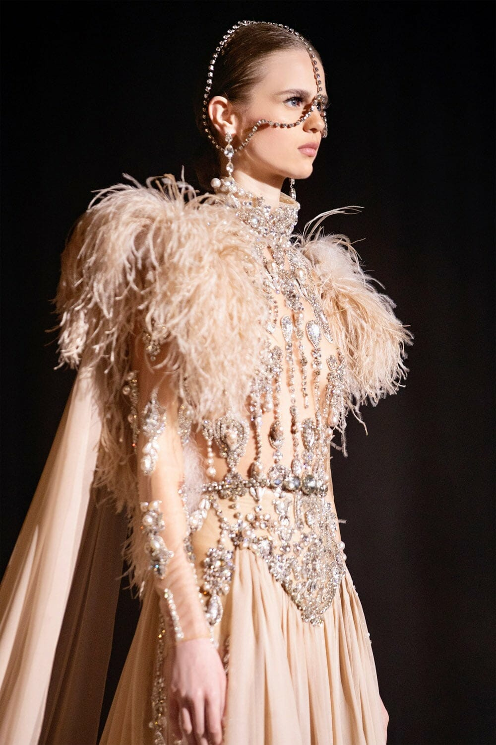 Elie Saab Haute Couture Spring Summer 2021. RUNWAY MAGAZINE ® Collections. RUNWAY NOW / RUNWAY NEW