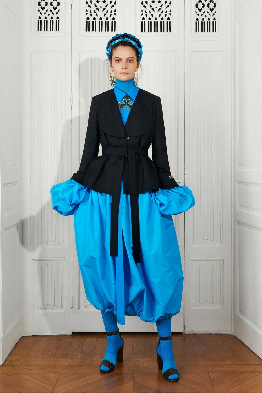 Patou Fall Winter 2021-2022 Paris. RUNWAY MAGAZINE ® Collections. RUNWAY NOW / RUNWAY NEW