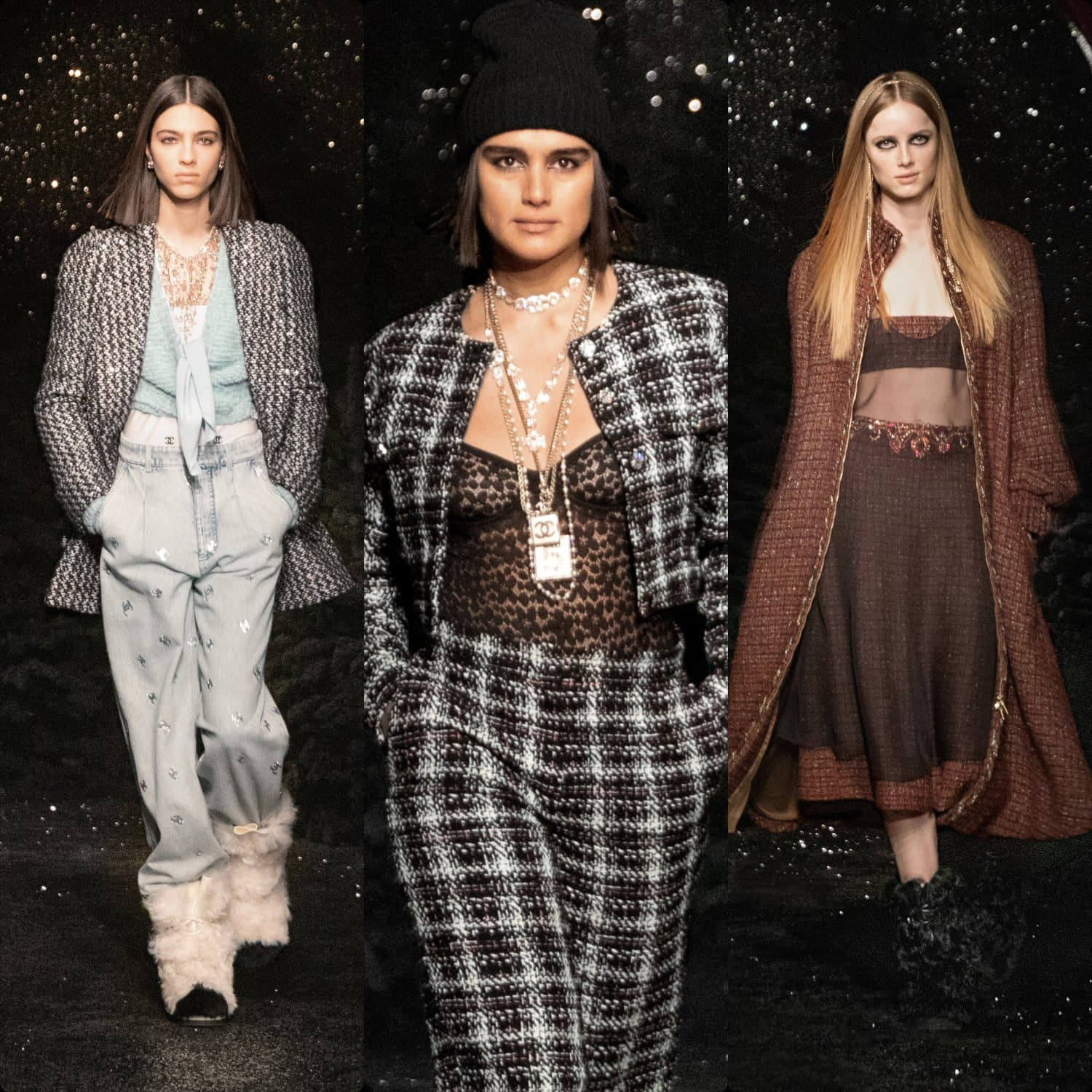 Chanel Fall Winter 2021-2022 Paris. RUNWAY MAGAZINE ® Collections. RUNWAY NOW / RUNWAY NEW