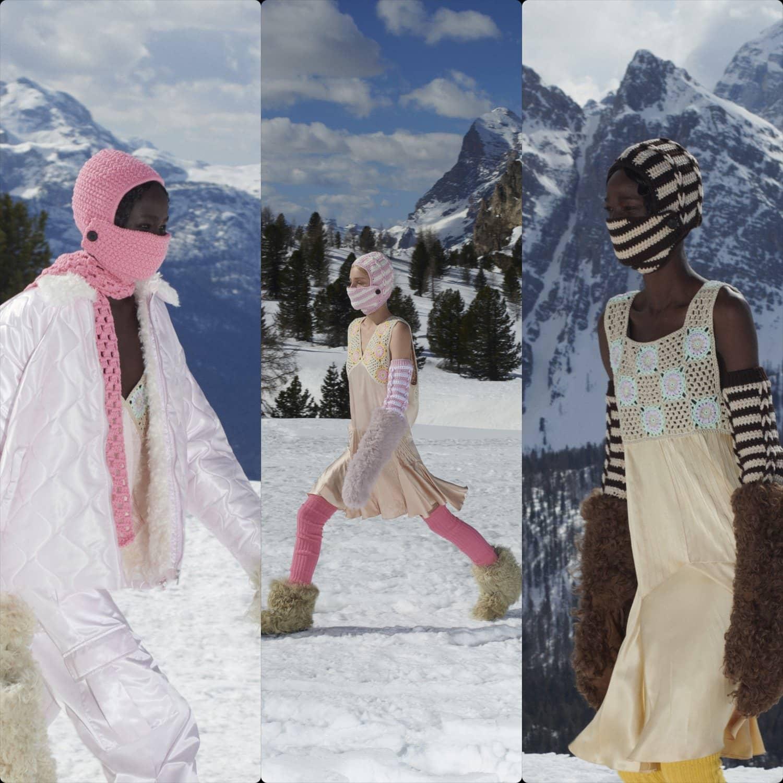 Miu Miu Fall Winter 2021-2022 Paris. RUNWAY MAGAZINE ® Collections. RUNWAY NOW / RUNWAY NEW