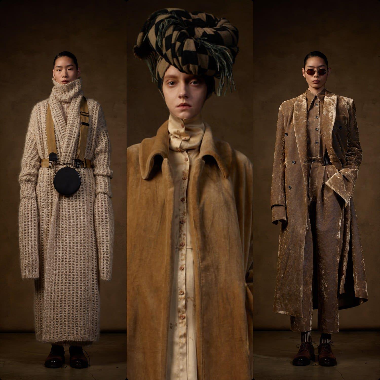 Uma Wang Fall Winter 2021-2022 Paris. RUNWAY MAGAZINE ® Collections. RUNWAY NOW / RUNWAY NEW