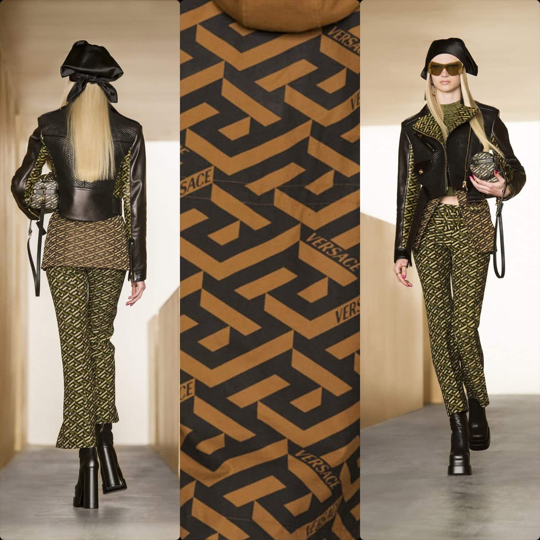 Versace Fall Winter 2021-2022 Paris. RUNWAY MAGAZINE ® Collections. RUNWAY NOW / RUNWAY NEW