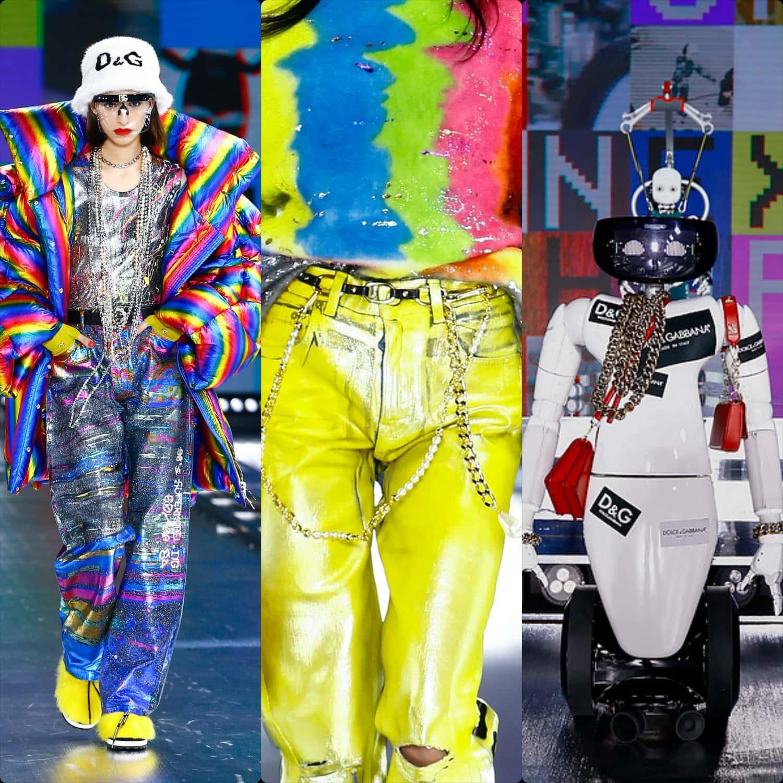 Dolce Gabbana Fall Winter 2021-2022 Milan. RUNWAY MAGAZINE ® Collections. RUNWAY NOW / RUNWAY NEW