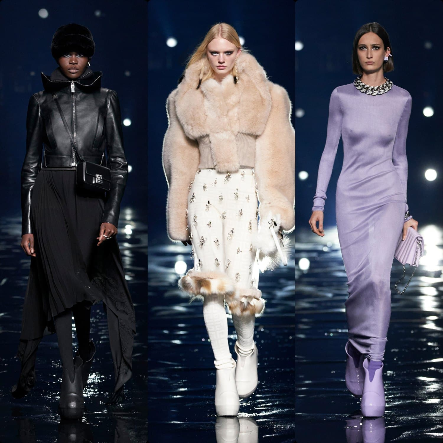 Givenchy Fall Winter 2021-2022 Paris. RUNWAY MAGAZINE ® Collections. RUNWAY NOW / RUNWAY NEW