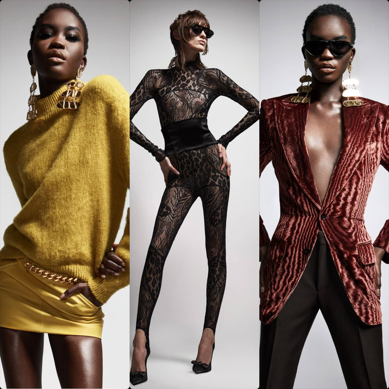 Tom Ford Fall Winter 2021-2022 New York. RUNWAY MAGAZINE ® Collections. RUNWAY NOW / RUNWAY NEW