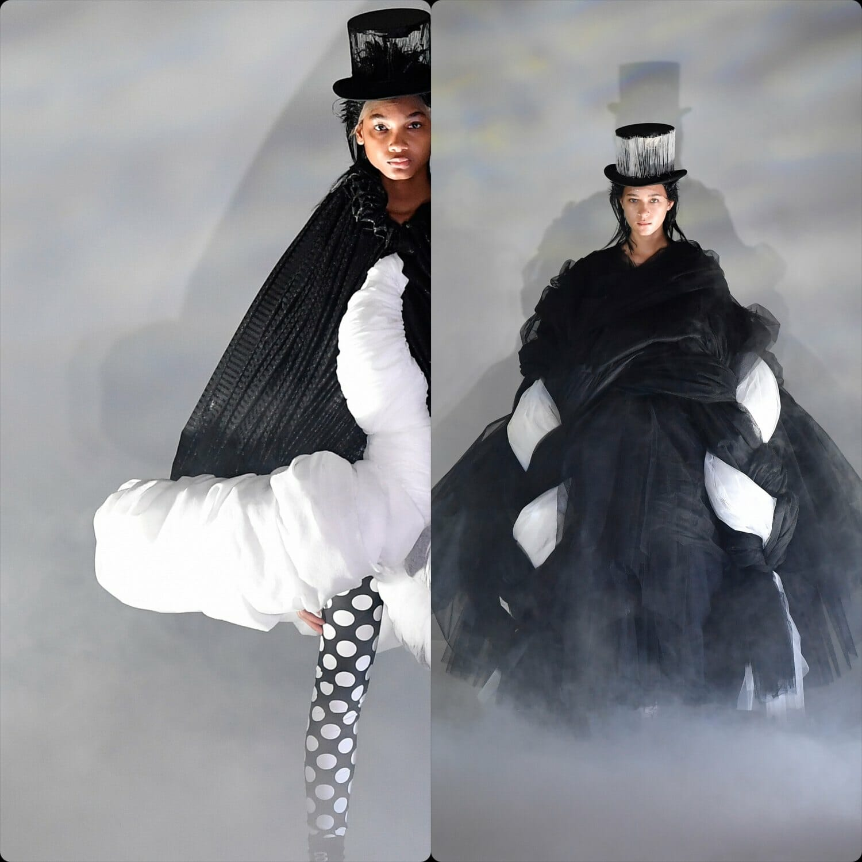 Comme des Garçons Fall Winter 2021 Paris. RUNWAY MAGAZINE ® Collections. RUNWAY NOW / RUNWAY NEW