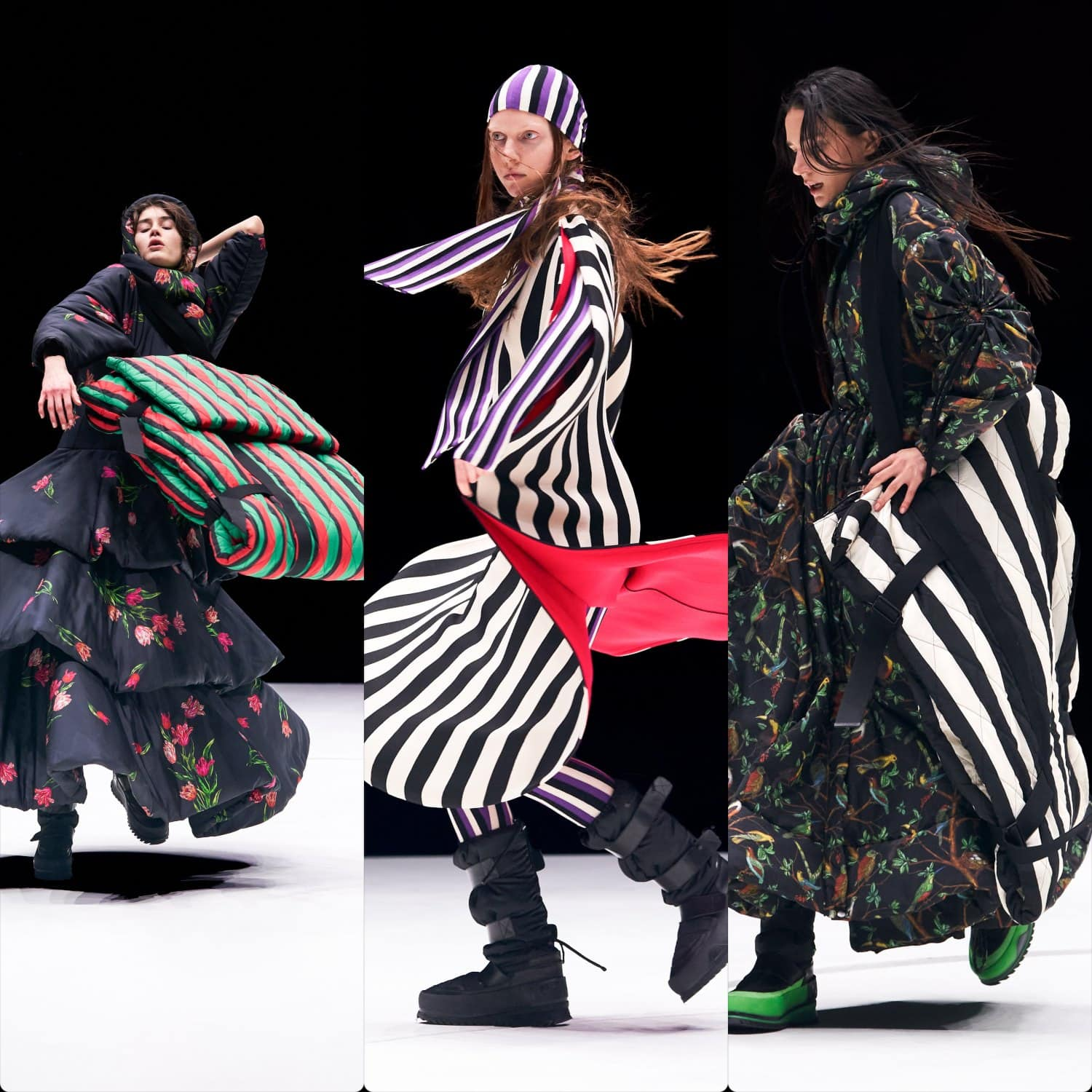 Kenzo Fall Winter 2021-2022 Paris. RUNWAY MAGAZINE ® Collections. RUNWAY NOW / RUNWAY NEW