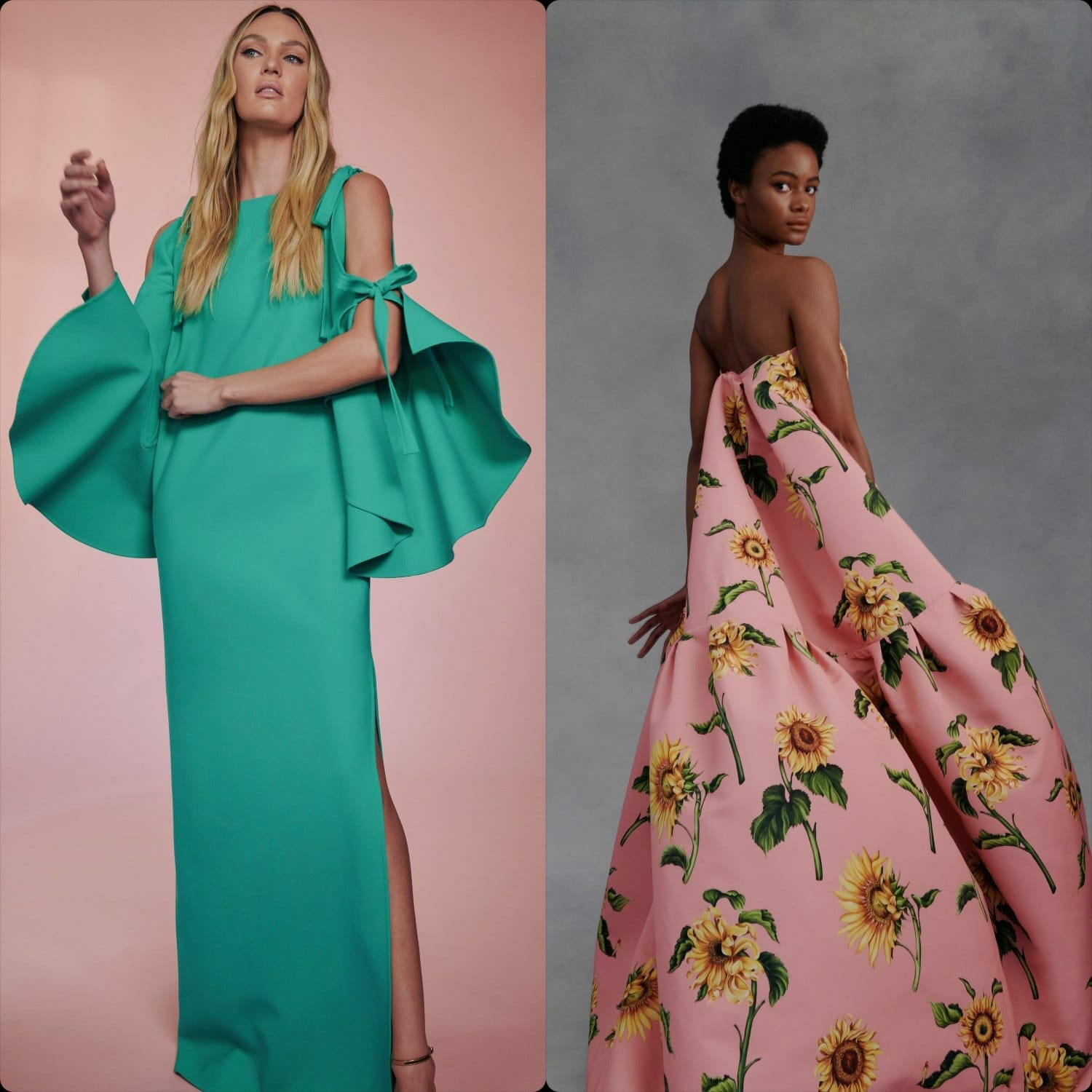 Oscar de la Renta Fall Winter 2021-2022 New York. RUNWAY MAGAZINE ® Collections. RUNWAY NOW / RUNWAY NEW