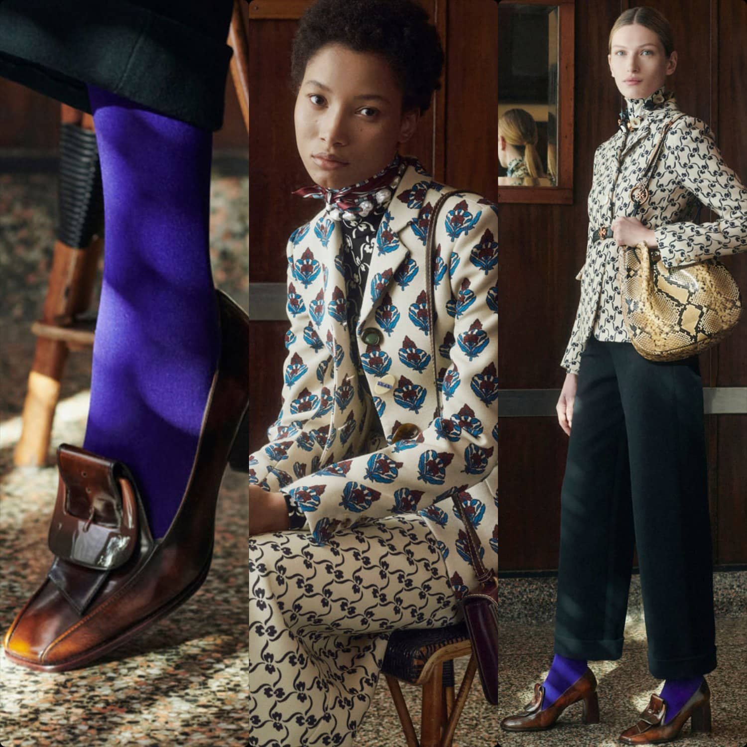 Tory Burch Fall Winter 2021-2022 New York. RUNWAY MAGAZINE ® Collections. RUNWAY NOW / RUNWAY NEW