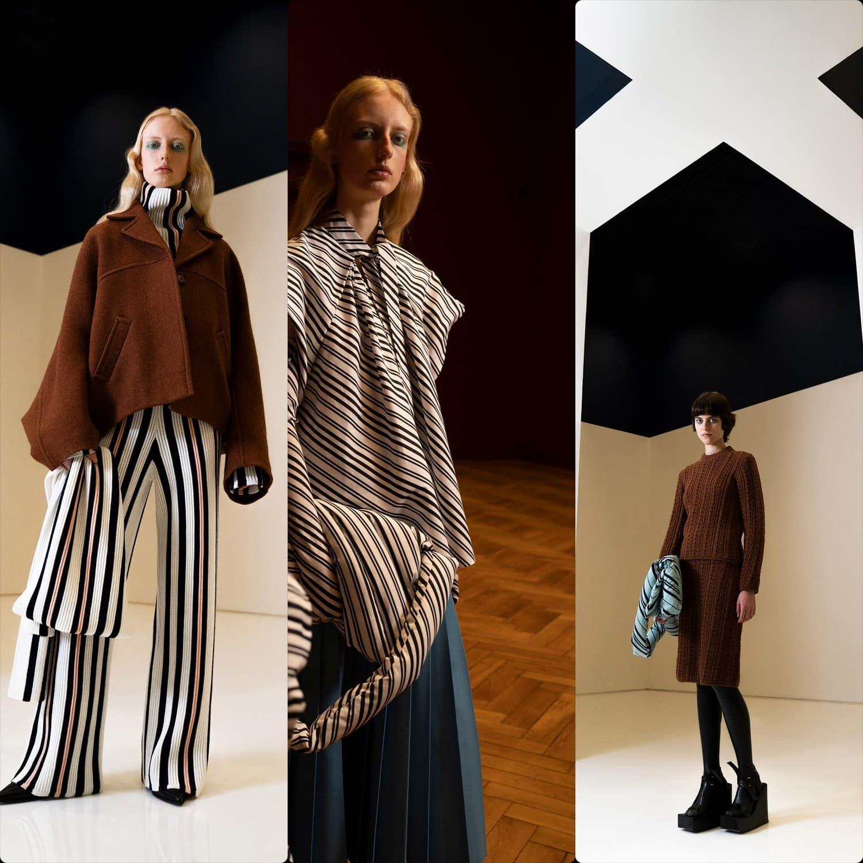 Christian Wijnants Fall Winter 2021-2022 Paris. RUNWAY MAGAZINE ® Collections. RUNWAY NOW / RUNWAY NEW