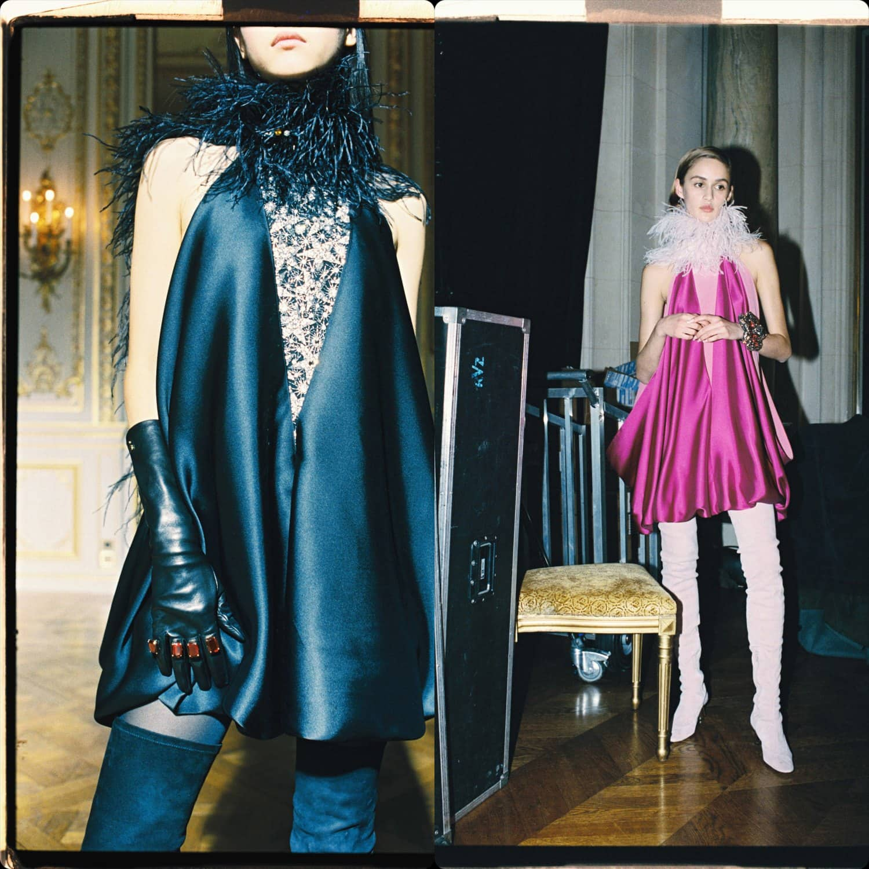 Lanvin Fall Winter 2021-2022 Paris. RUNWAY MAGAZINE ® Collections. RUNWAY NOW / RUNWAY NEW