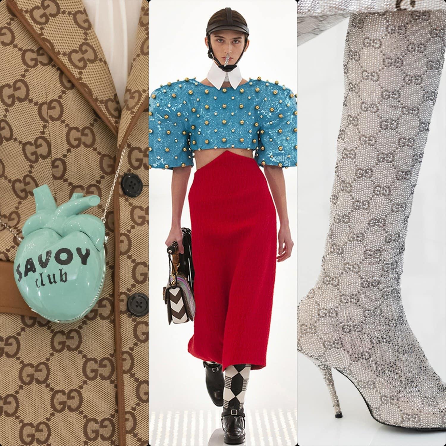 Gucci Fall Winter 2021-2022. RUNWAY MAGAZINE ® Collections. RUNWAY NOW / RUNWAY NEW