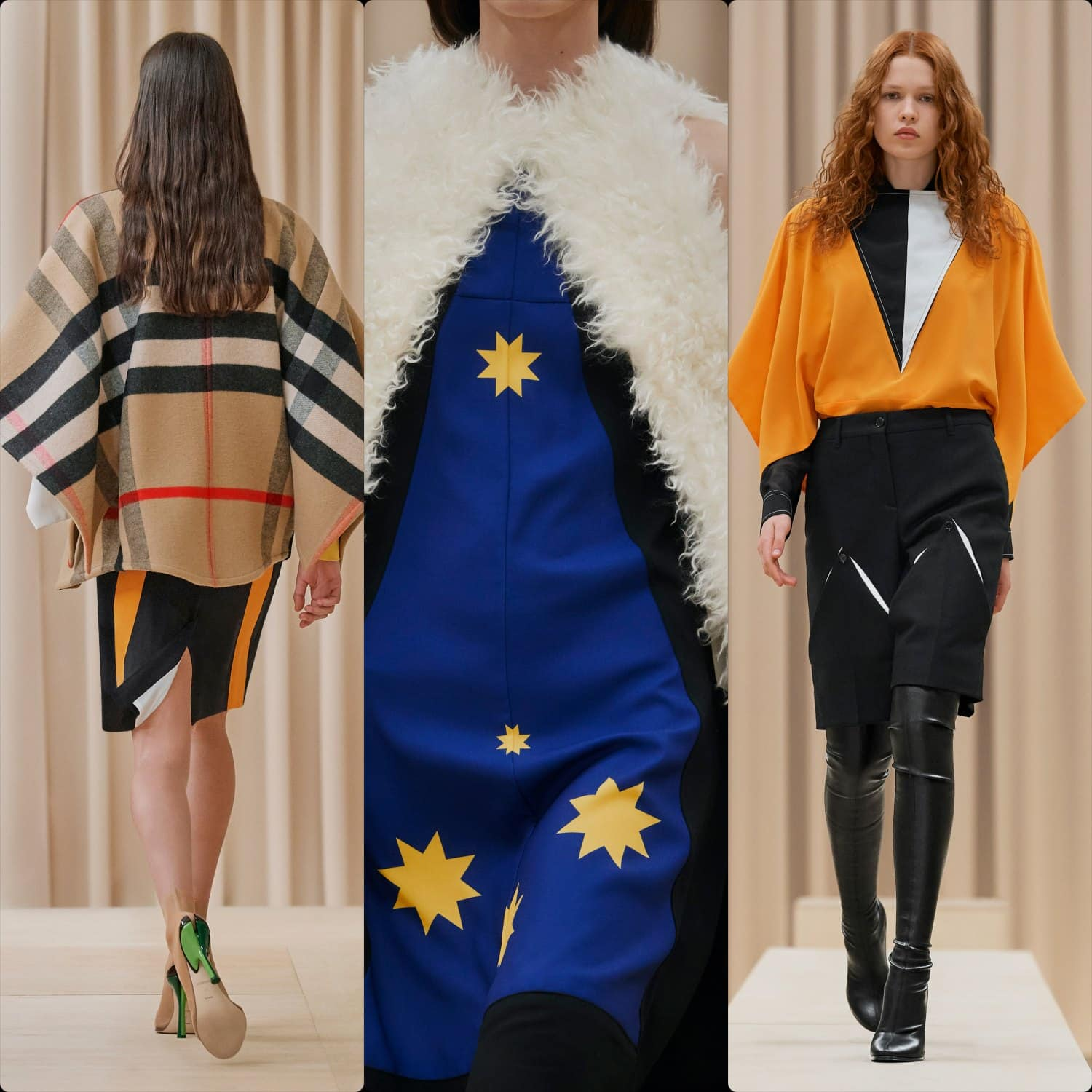 Burberry Fall Winter 2021-2022 London. RUNWAY MAGAZINE ® Collections. RUNWAY NOW / RUNWAY NEW