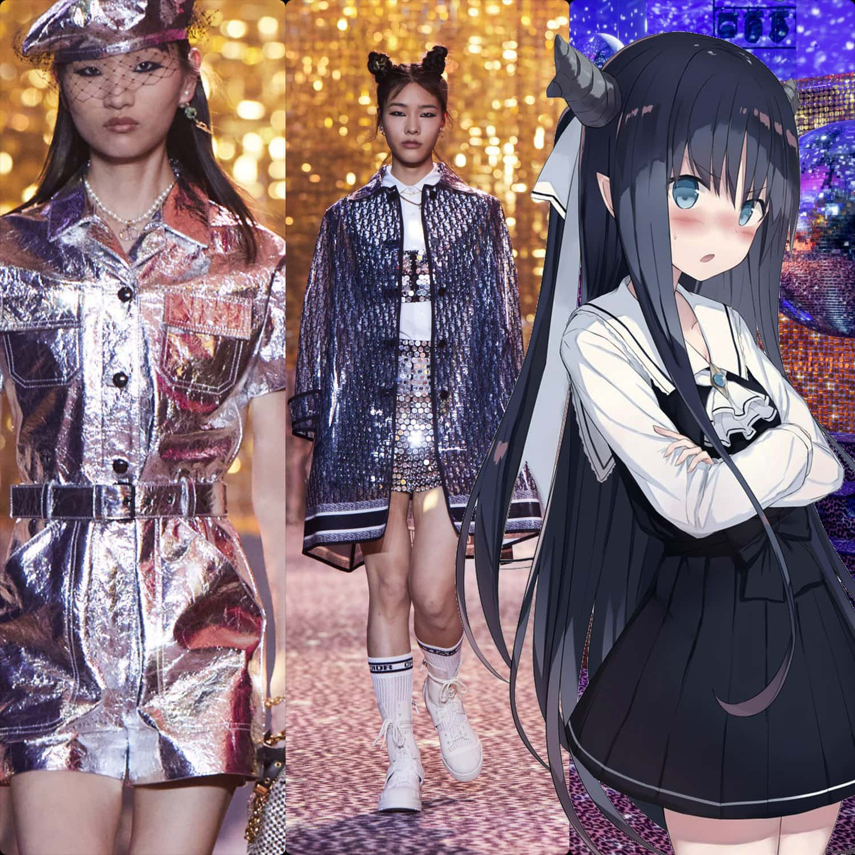 Christian Dior Fall 2021 Shanghai. RUNWAY MAGAZINE ® Collections. RUNWAY NOW / RUNWAY NEW