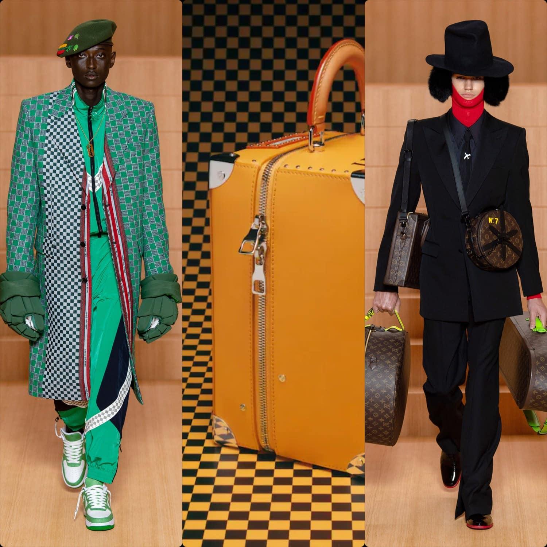 Louis Vuitton Spring Summer 2022 Menswear. RUNWAY MAGAZINE ® Collections. RUNWAY NOW / RUNWAY NEW