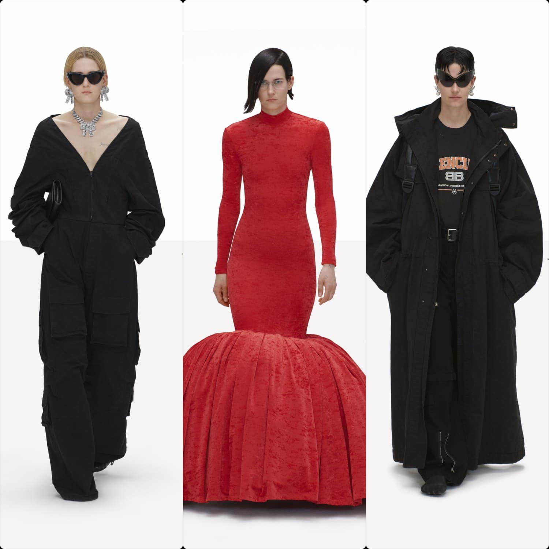 Balenciaga Clones Spring Summer 2022. RUNWAY MAGAZINE ® Collections. RUNWAY NOW / RUNWAY NEW