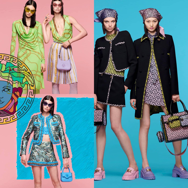 Versace Resort 2022 Cruise. RUNWAY MAGAZINE ® Collections. RUNWAY NOW / RUNWAY NEW