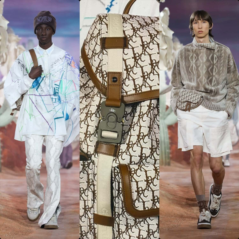 Dior Spring Summer 2022 Menswear. RUNWAY MAGAZINE ® Collections. RUNWAY NOW / RUNWAY NEW