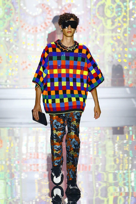 Dolce Gabbana Spring Summer 2022 Menswear. RUNWAY MAGAZINE ® Collections. RUNWAY NOW / RUNWAY NEW
