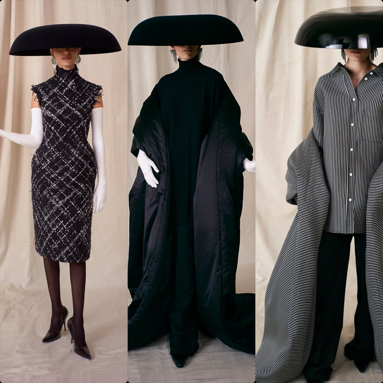 Balenciaga Couture Fall Winter 2021-2022. RUNWAY MAGAZINE ® Collections. RUNWAY NOW / RUNWAY NEW