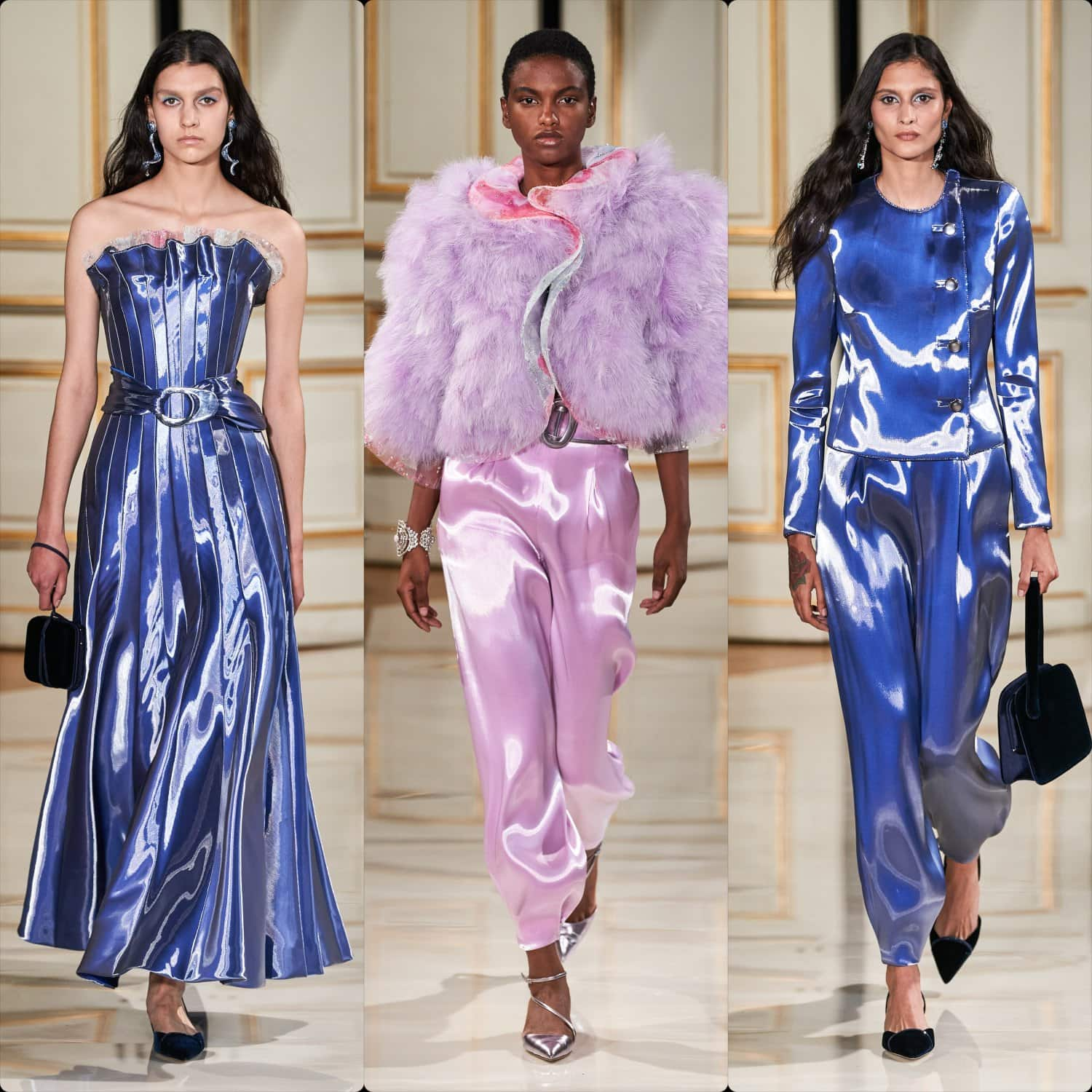Armani Privé Couture Fall Winter 2021-2022. RUNWAY MAGAZINE ® Collections. RUNWAY NOW / RUNWAY NEW