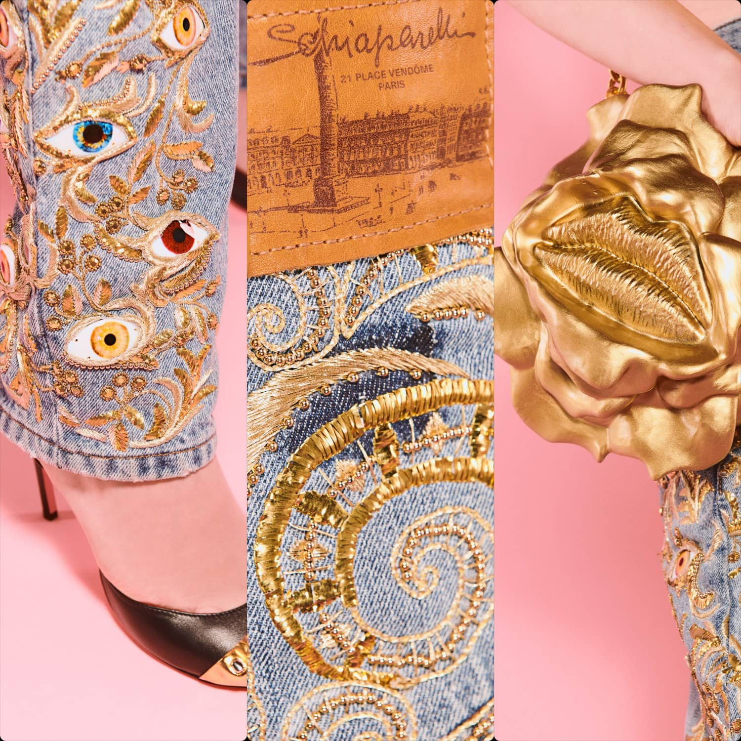 Schiaparelli Couture Fall Winter 2021-2022. RUNWAY MAGAZINE ® Collections. RUNWAY NOW / RUNWAY NEW