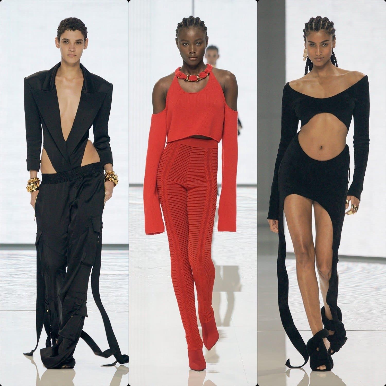 Balmain Spring Summer 2022 Paris. RUNWAY MAGAZINE ® Collections. RUNWAY NOW / RUNWAY NEW