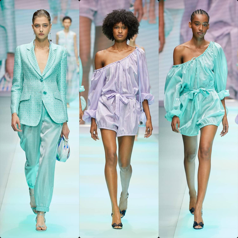 Emporio Armani Spring Summer 2022 Milan. RUNWAY MAGAZINE ® Collections. RUNWAY NOW / RUNWAY NEW