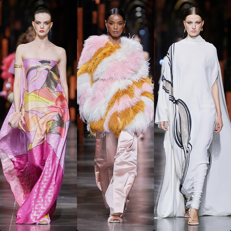 Fendi Spring Summer 2022 Milan. RUNWAY MAGAZINE ® Collections. RUNWAY NOW / RUNWAY NEW
