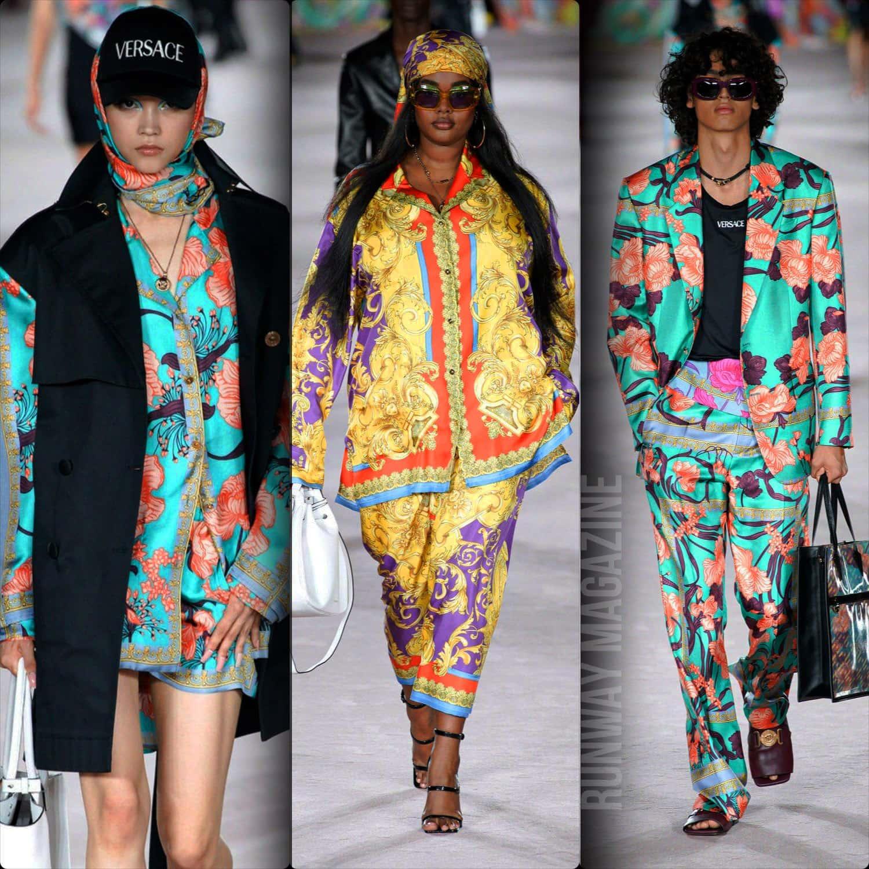 Versace Spring Summer 2022 Milan. RUNWAY MAGAZINE ® Collections. RUNWAY NOW / RUNWAY NEW
