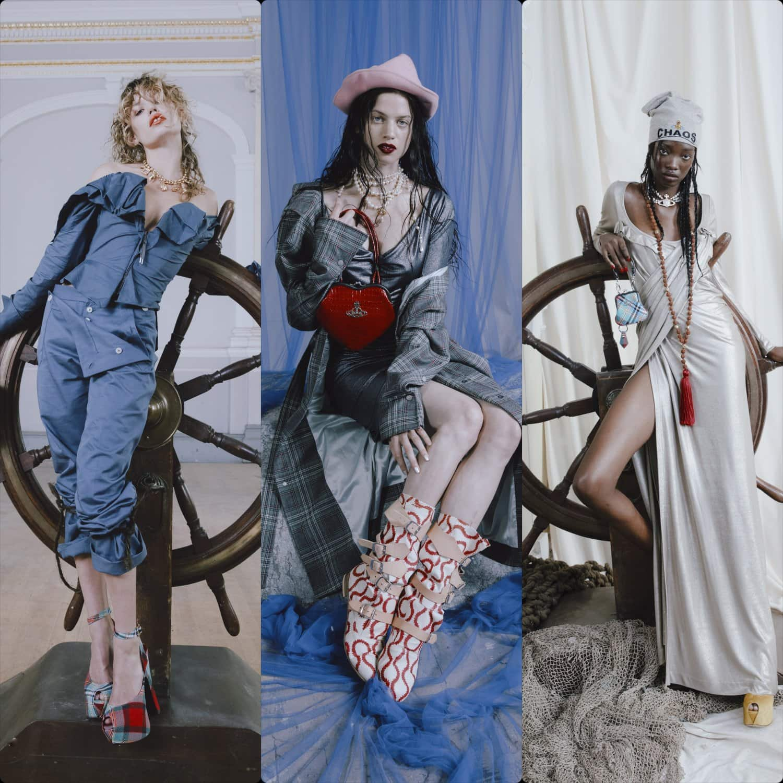 Vivienne Westwood Spring Summer 2022 London. RUNWAY MAGAZINE ® Collections. RUNWAY NOW / RUNWAY NEW
