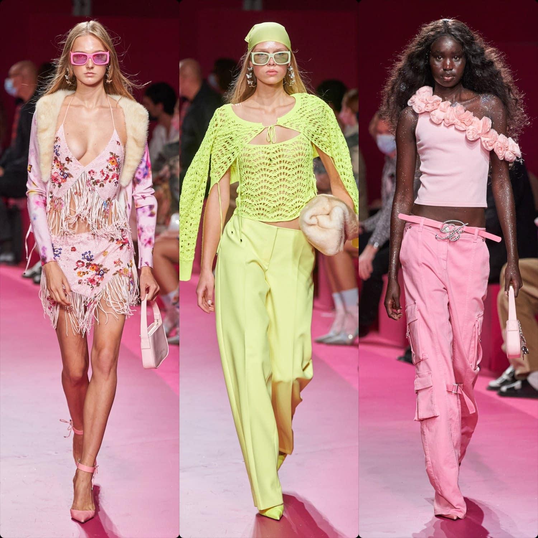 Blumarine Spring Summer 2022 Milan. RUNWAY MAGAZINE ® Collections. RUNWAY NOW / RUNWAY NEW