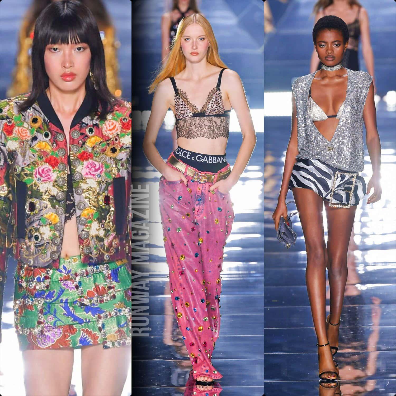 Dolce Gabbana Spring Summer 2022 Milan. RUNWAY MAGAZINE ® Collections. RUNWAY NOW / RUNWAY NEW